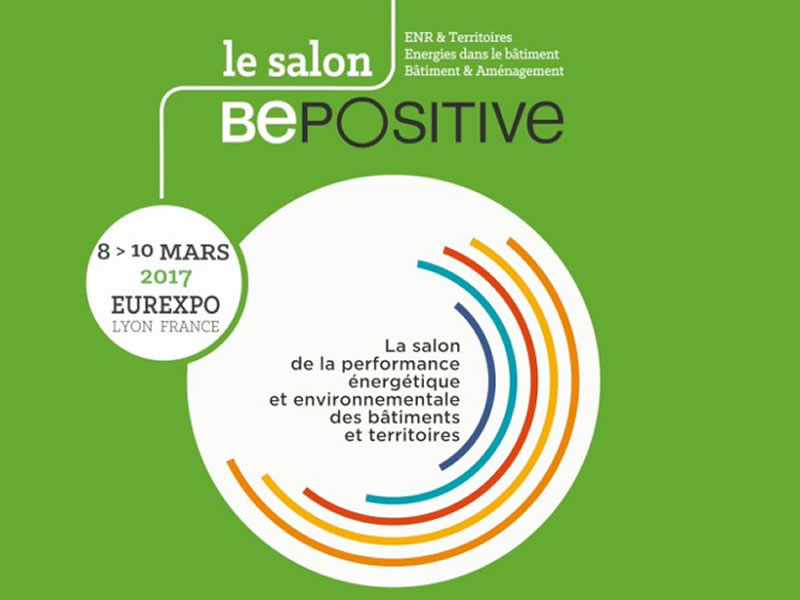 Salon be positive lyon venck conception bureau d for Salon eurexpo lyon 2017